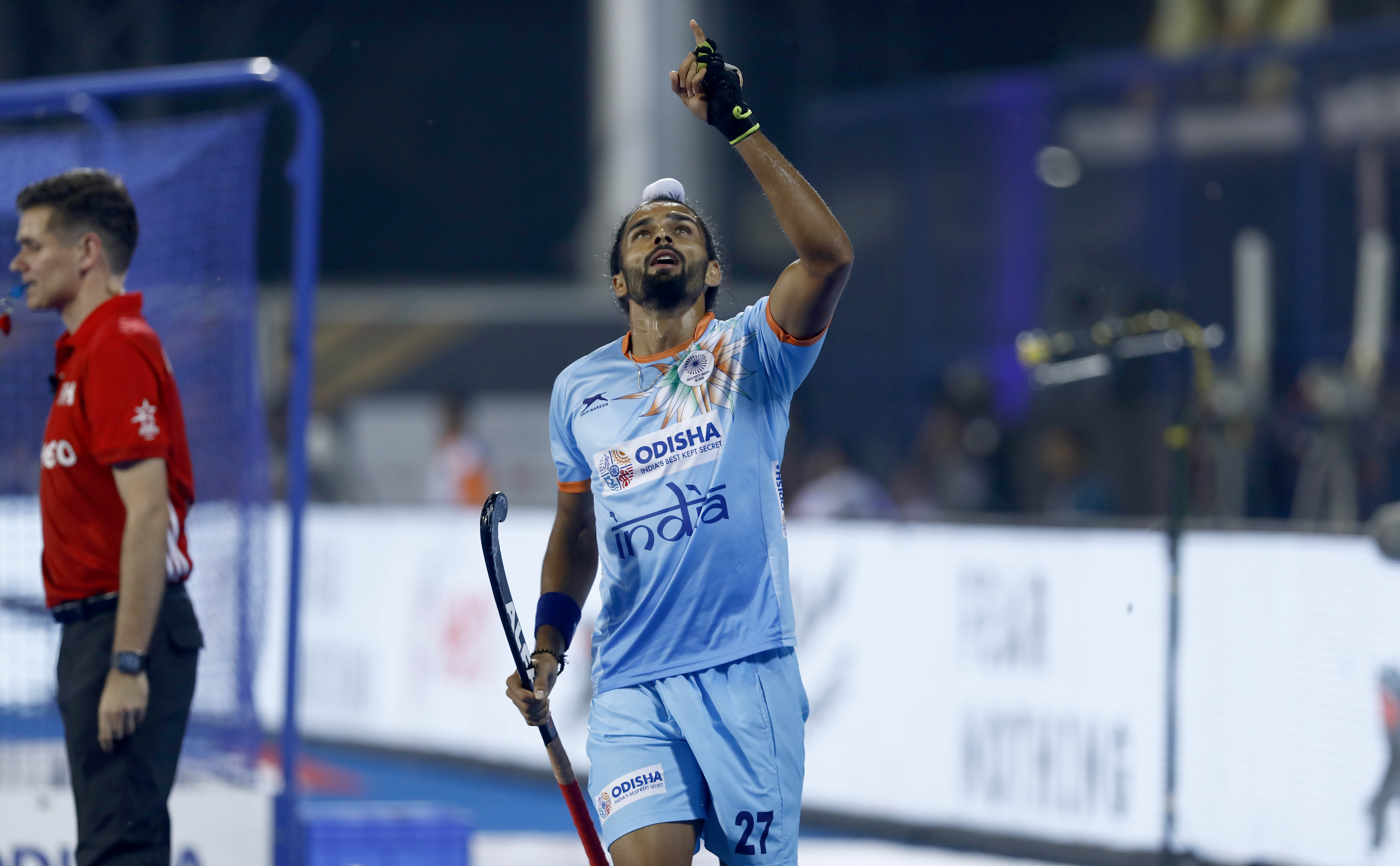 Akashdeep Singh Indian hockey team