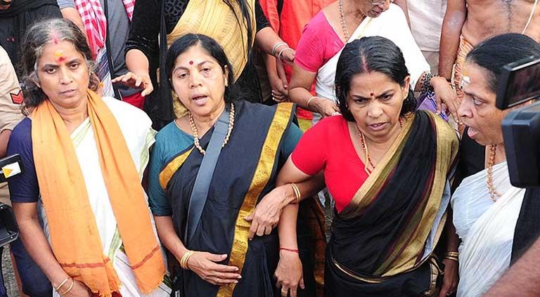 Image result for sabarimala lalitha attack