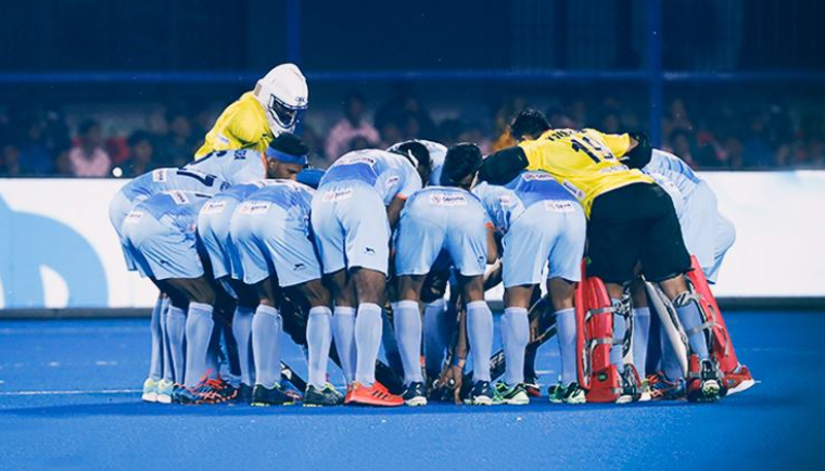 Indian hockey team at FIH Men's Hockey World Cup