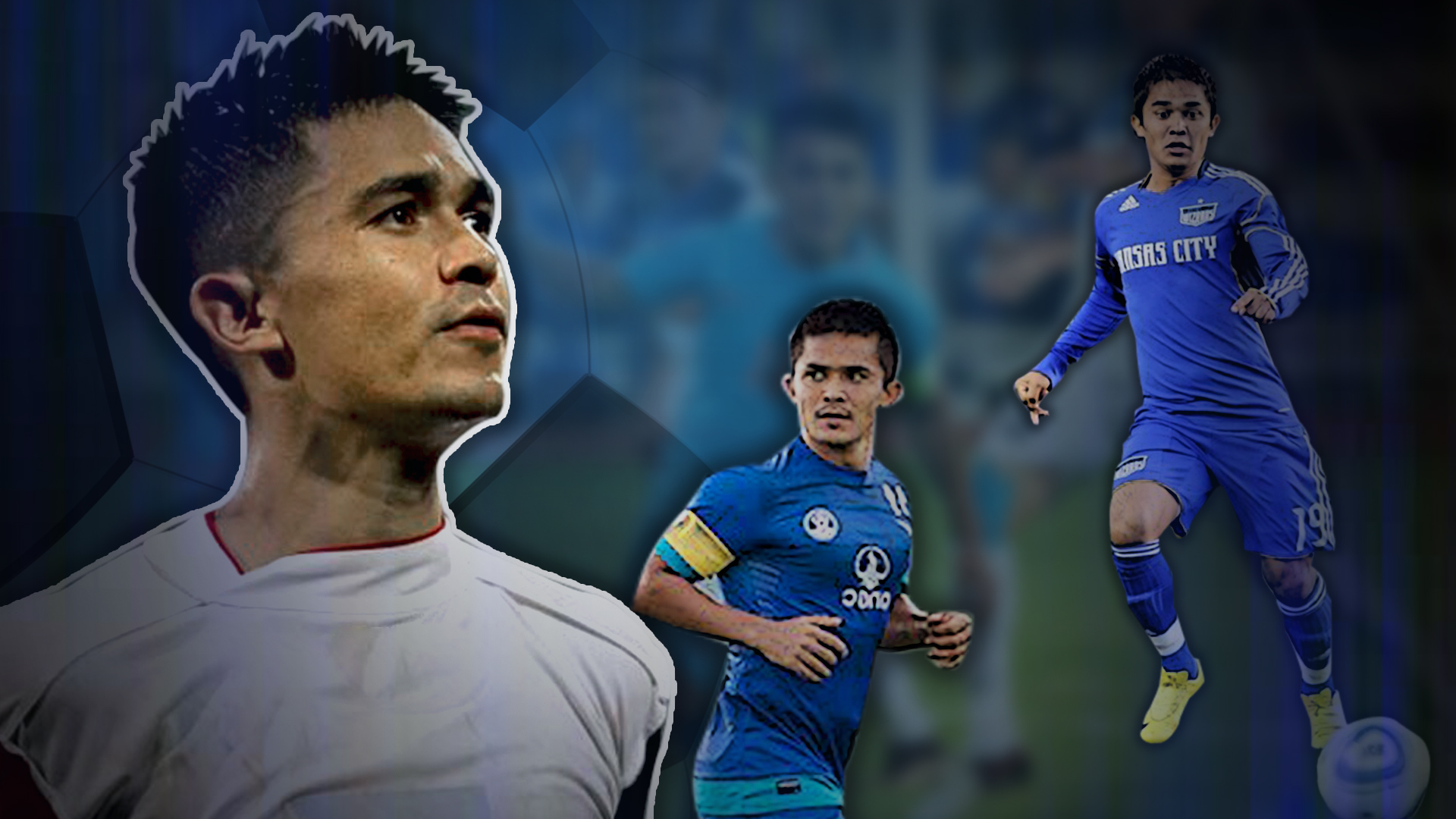 Indian football team and Bengaluru FC skipper Sunil Chhetri