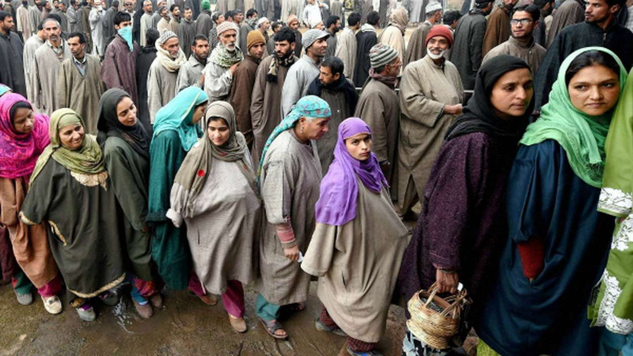 On Saturday, the eighth phase of panchayat elections was concluded in Jammu and Kashmir.