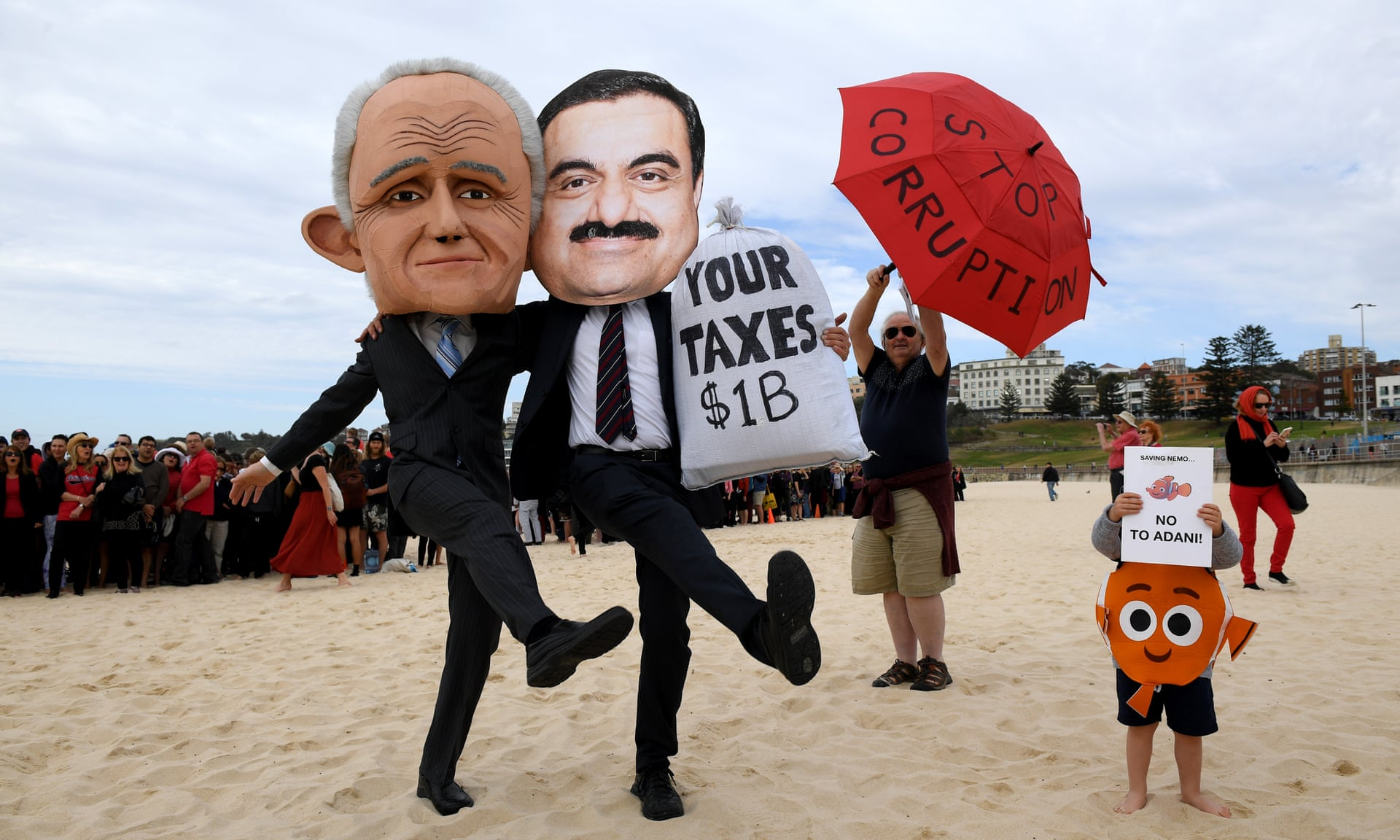 protest against adani in australia