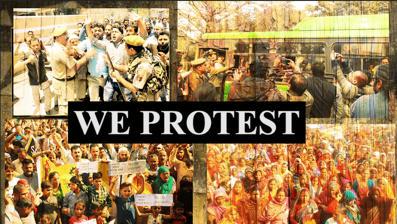 We protest