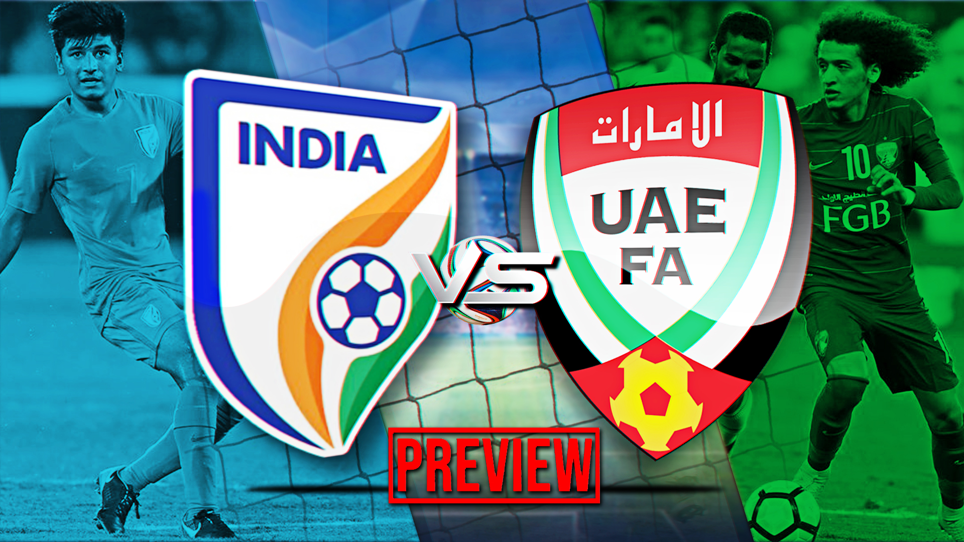 India vs UAE AFC Asian Cup 2019 Preview