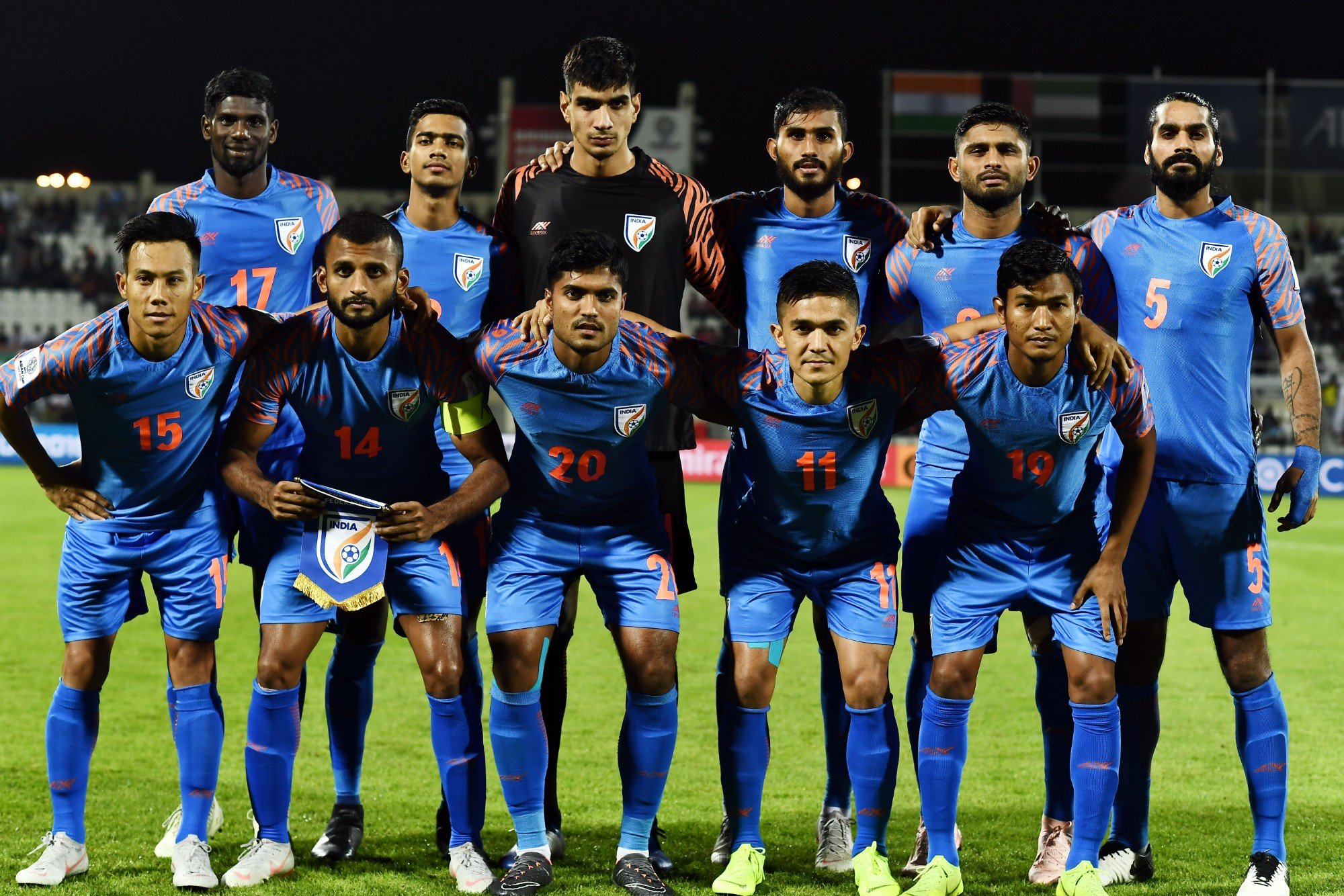 Indian Football: India climbs two places in FIFA rankings