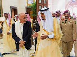 Saudi role in the Afghan