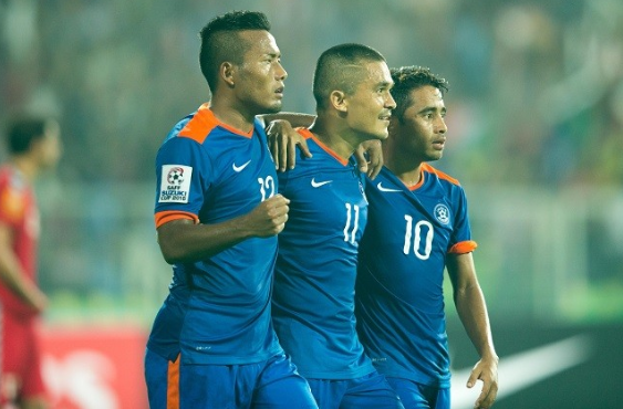 Indian football team skipper Sunil Chhetri AFC Asian Cup 2019