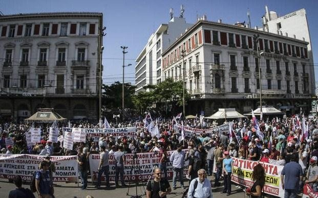 greece teachers' strike