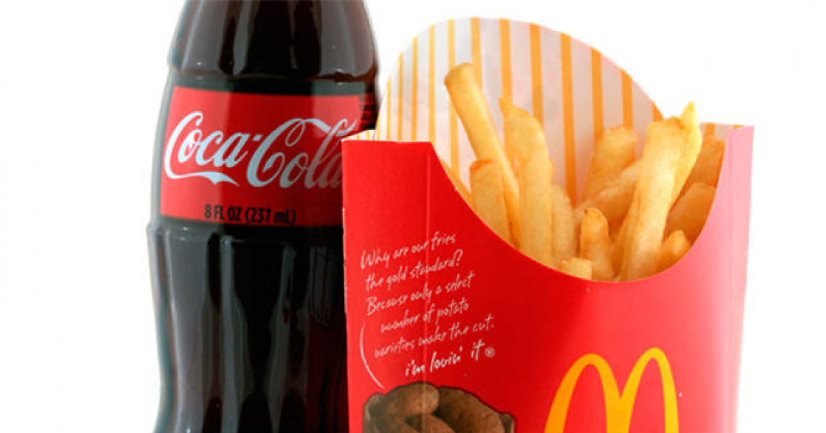 McDonalds and Coca Cola
