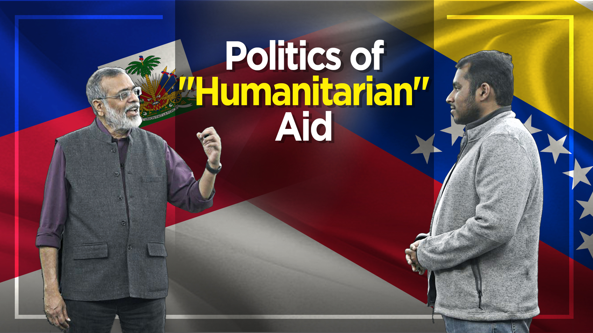 "Politics of ""Humanitarian"" Aid"