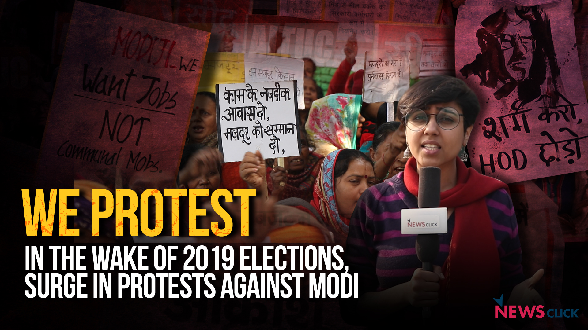 In the Wake of 2019 General Elections, Surge in Protests Against PM Modi