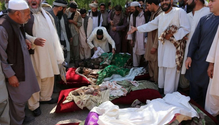 Highest Number of Civilians Killed in Afghanistan