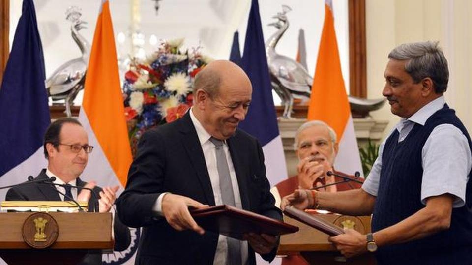 Manohar Parrikar and French