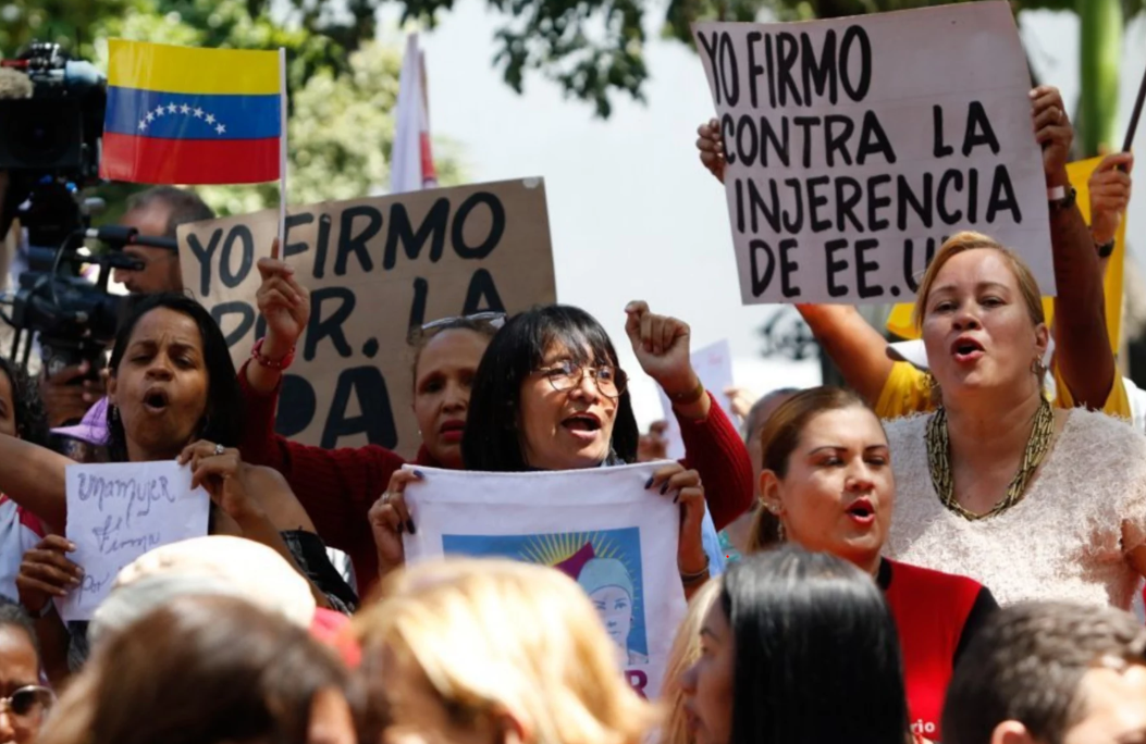 Defying US-led Pressure, People Across The World Stand up for Venezuela's Sovereignty