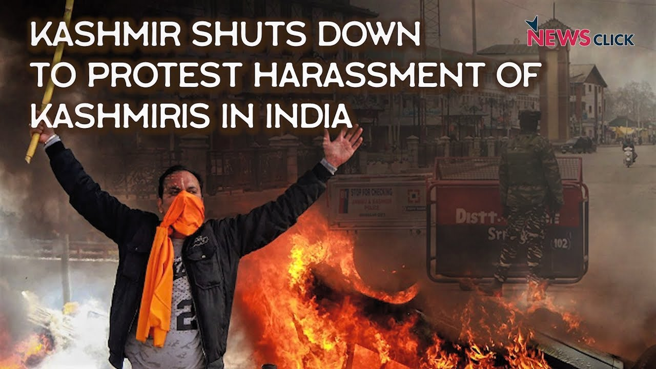 Shutdown in Kashmir Following Harassment of Kashmiris Across India