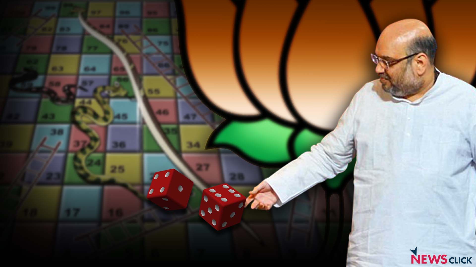 BJP's game of electoral alliances.