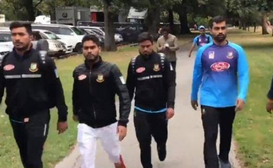 Bangladesh cricket team players narrowly escaped the Christchurch mosque shooting