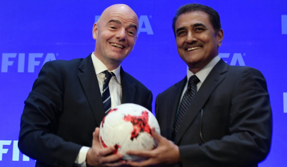 FIFA awards India the right to host the 2020 U-17 Women's World Cup