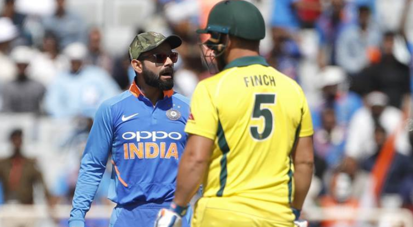 Indian cricket team captain Virat Kohli and Australia skipper Aaron Finch