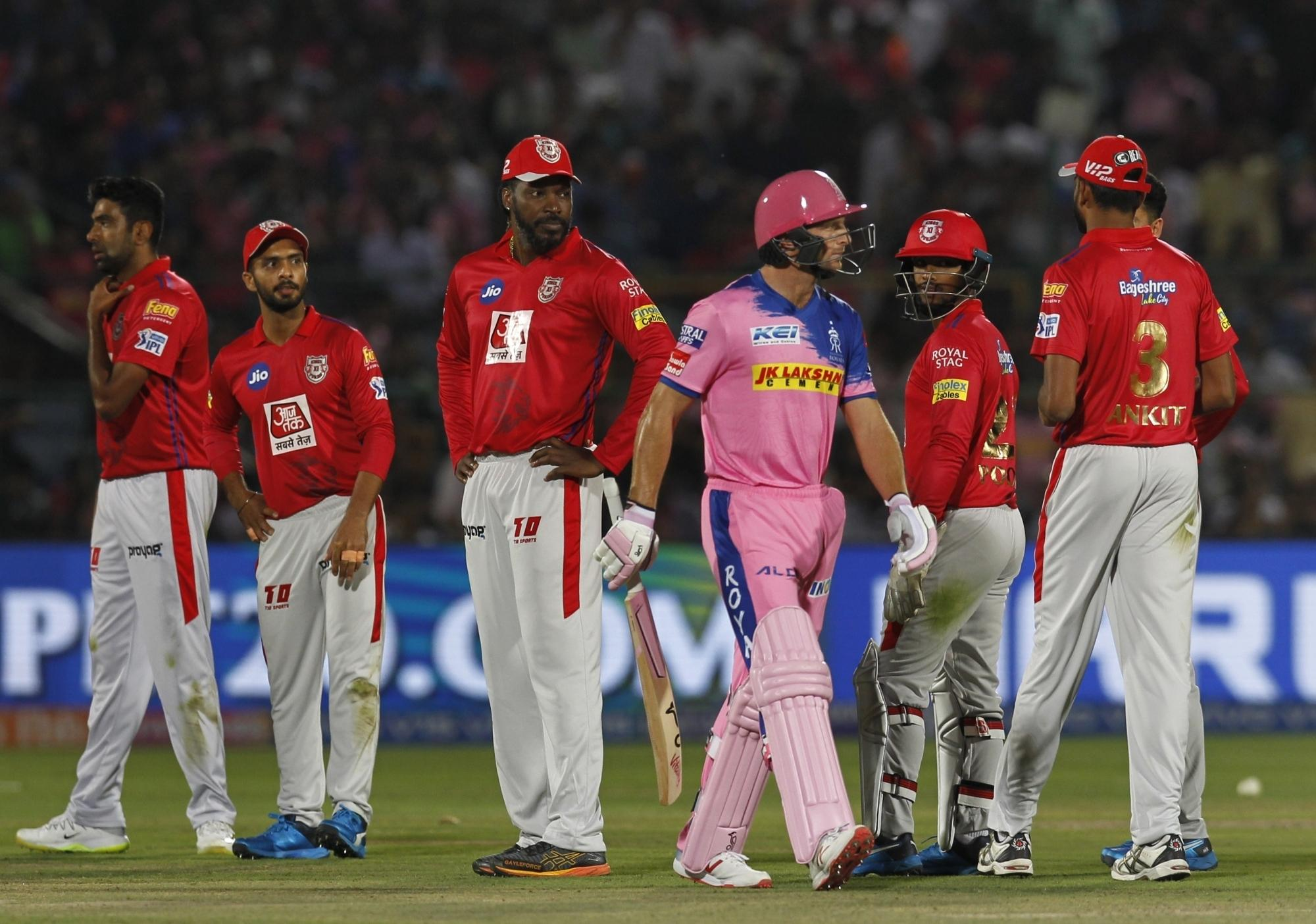 R Ashwin runs out Jos Buttler during their 2019 Indian Premier League (IPL) match