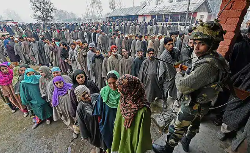 The Farce That Democracy Has Become in Kashmir