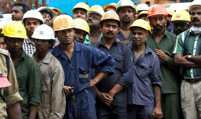 Workers in india