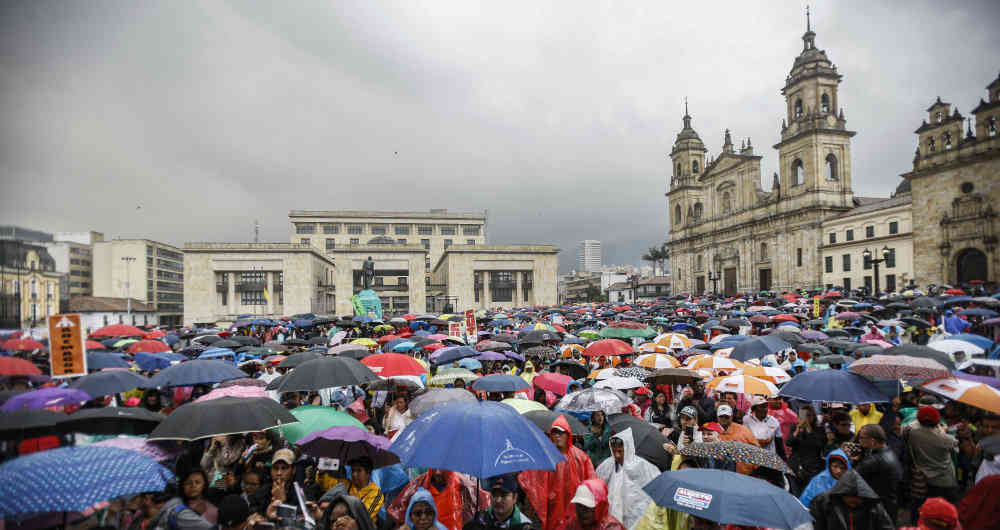Colombian Teachers Strike