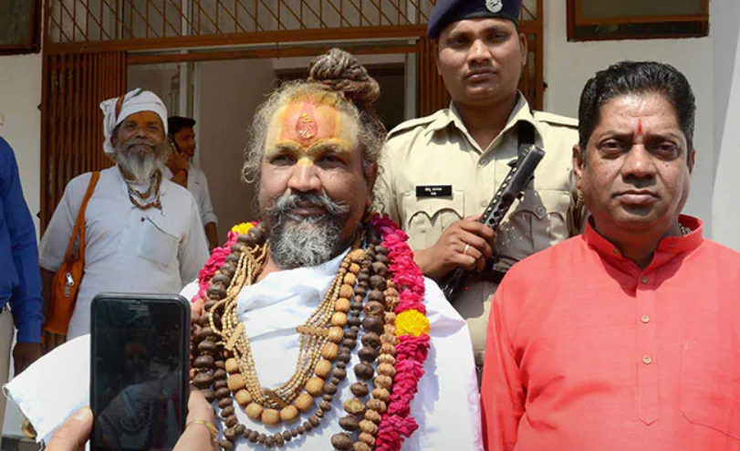 Former BJP Loyalist 'Computer Baba' Appointed By Congress In MP As River Trust Chief