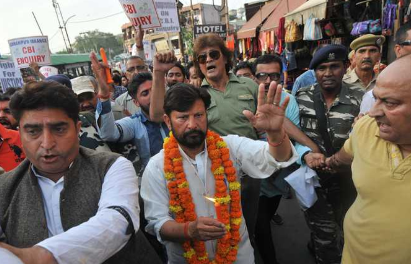 Lal Singh and BJP Hand-in-gloves?