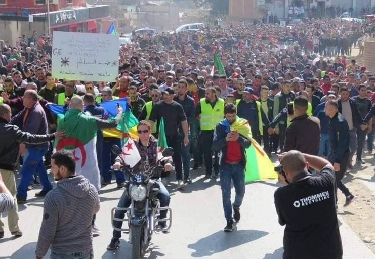 Protests in Algeria against a fifth term for Abdelaziz Bouteflika