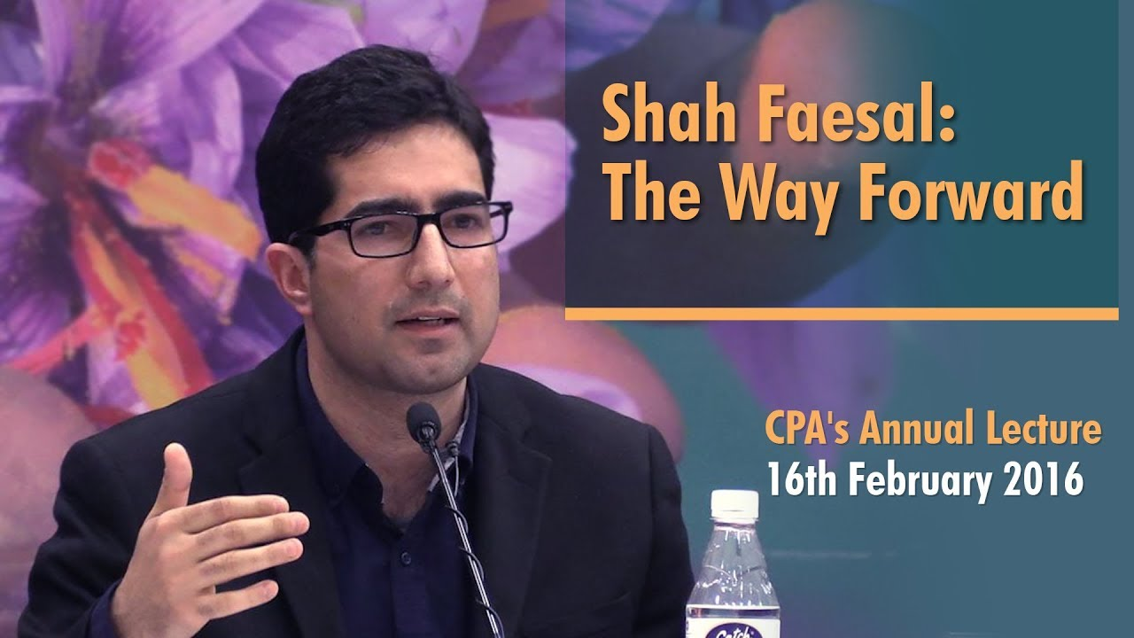 Shah Faesal: The Way Forward