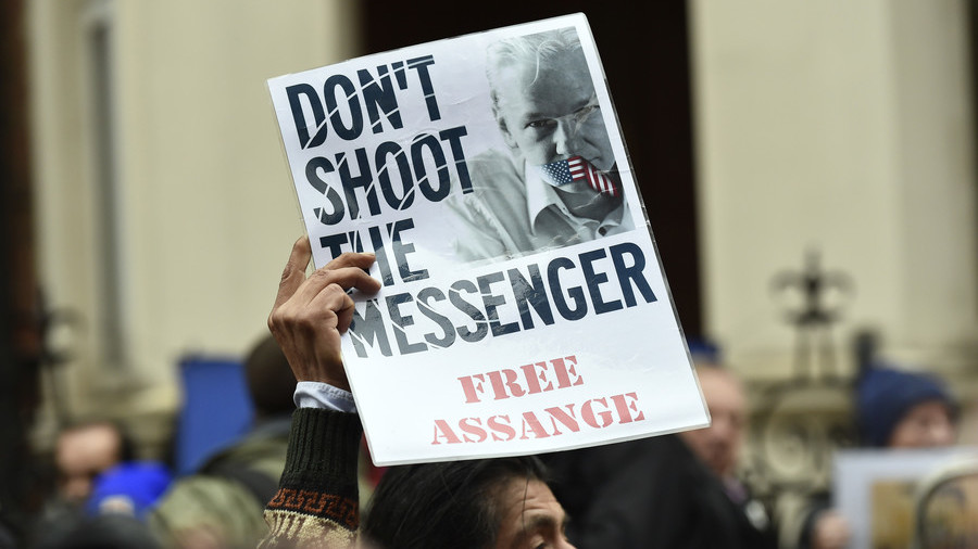 Assange arrested in London