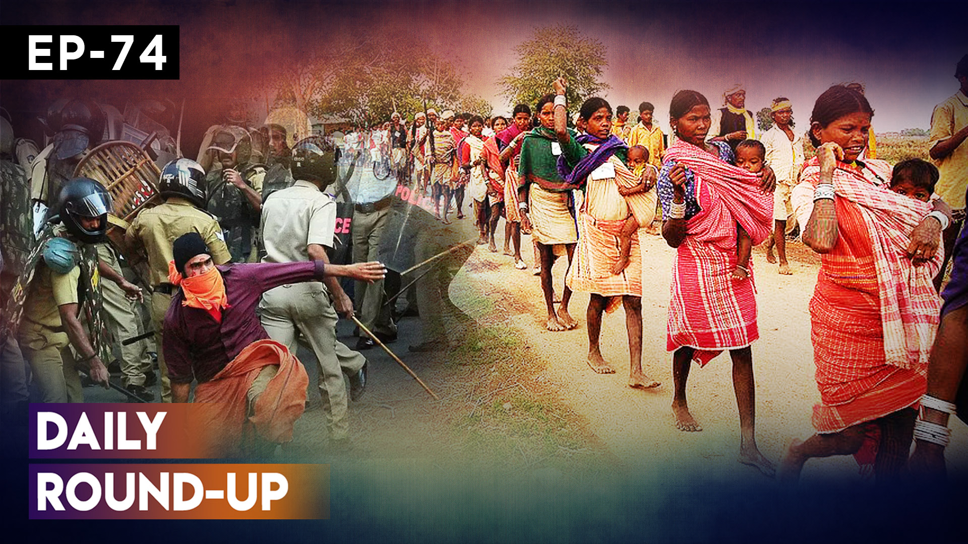 Daily Round-up Ep 74: 6,000 Adivasi Workers on indefinite protest in MP and more
