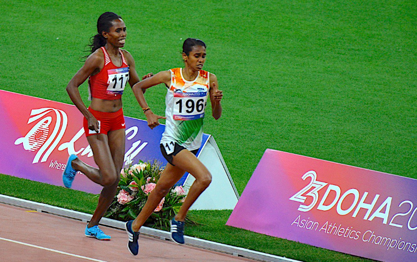 PU Chitra dashes to gold at the Asian Athletics Championships in Doha