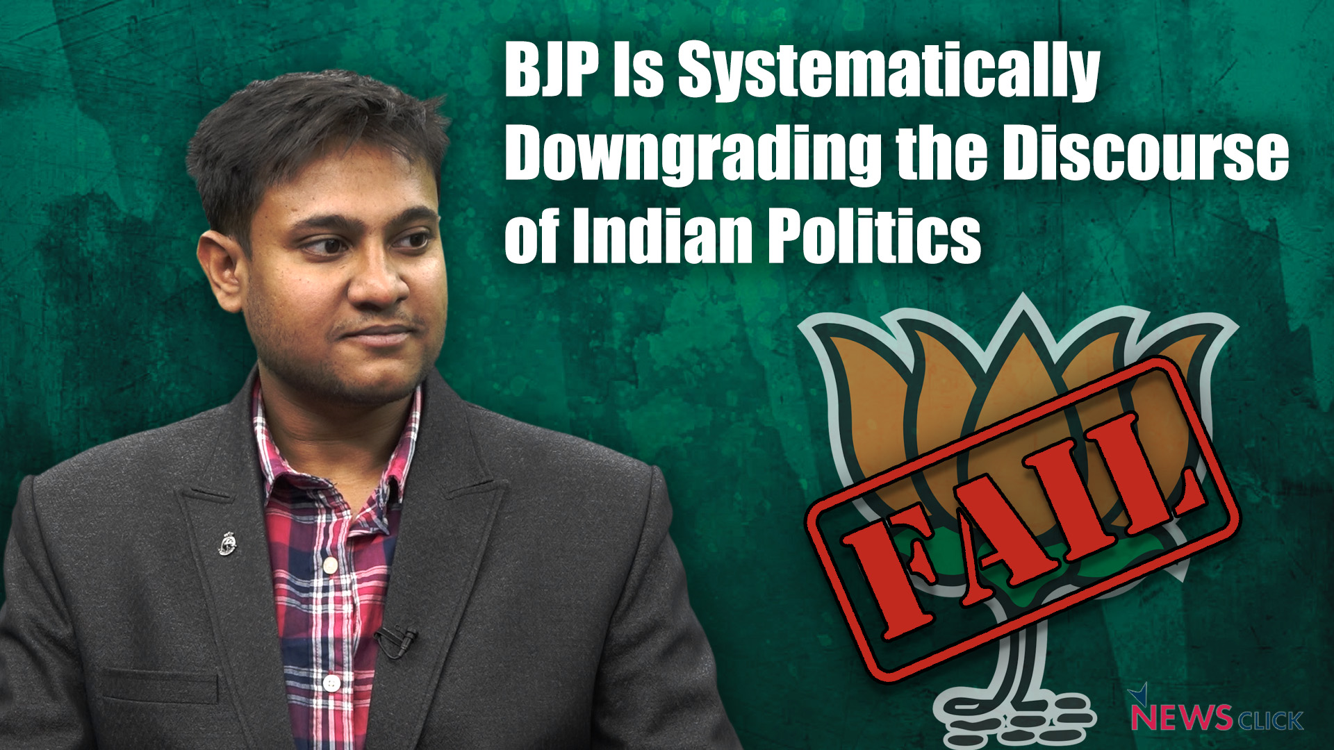 BJP Is Systematically Downgrading the Discourse of Indian Politics