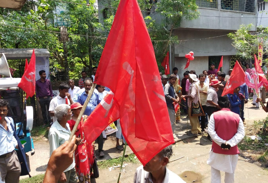 Elections 2019: CPI(M) Party Office in Nandigram