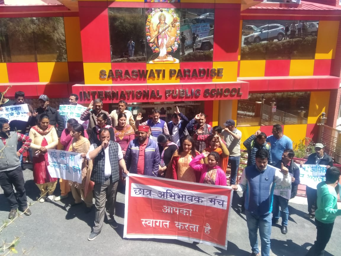 himachal Protest
