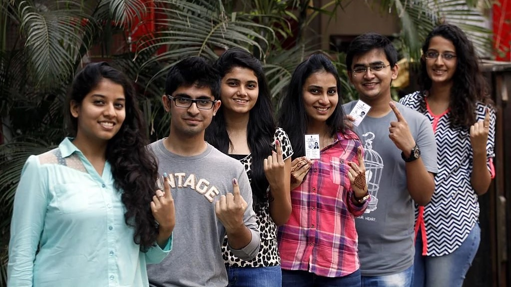 First time voters in India.