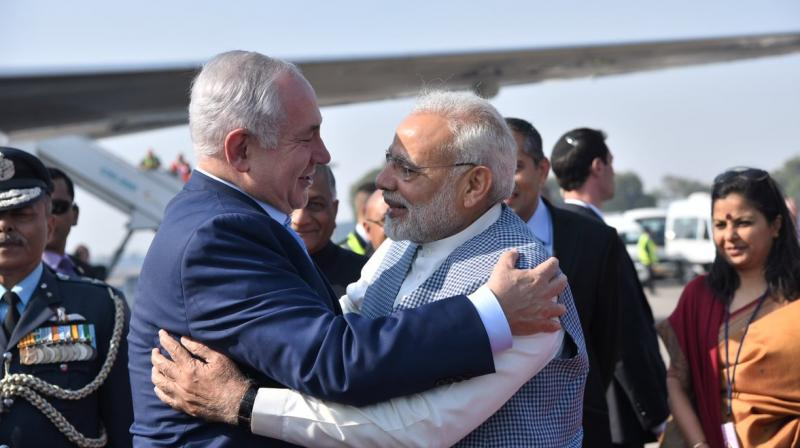 Modi and Netanyahu