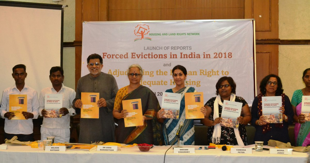 People Forcefully Evicted Across India