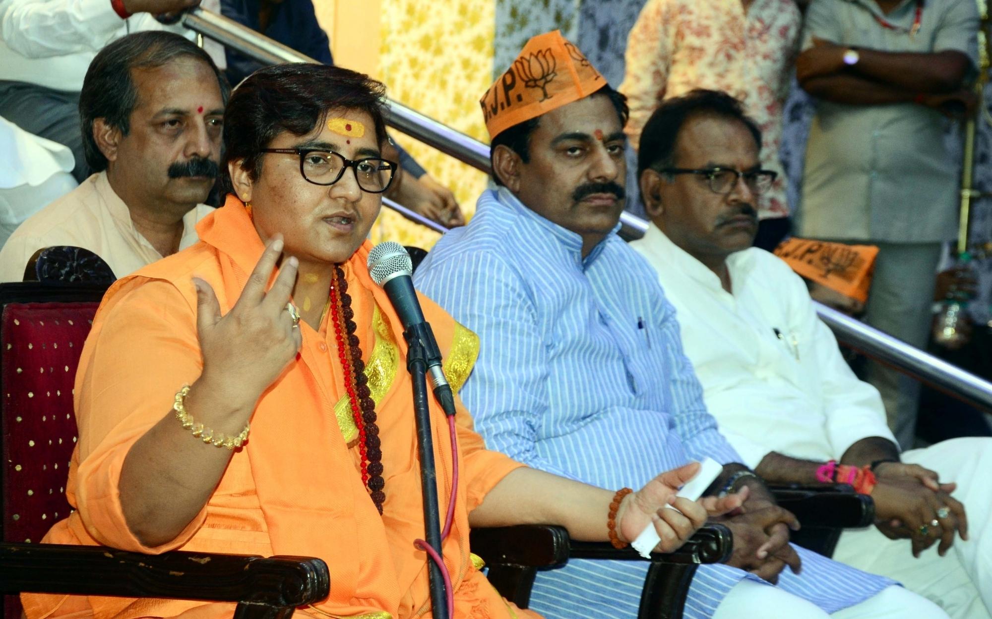 Image result for pragya thakur