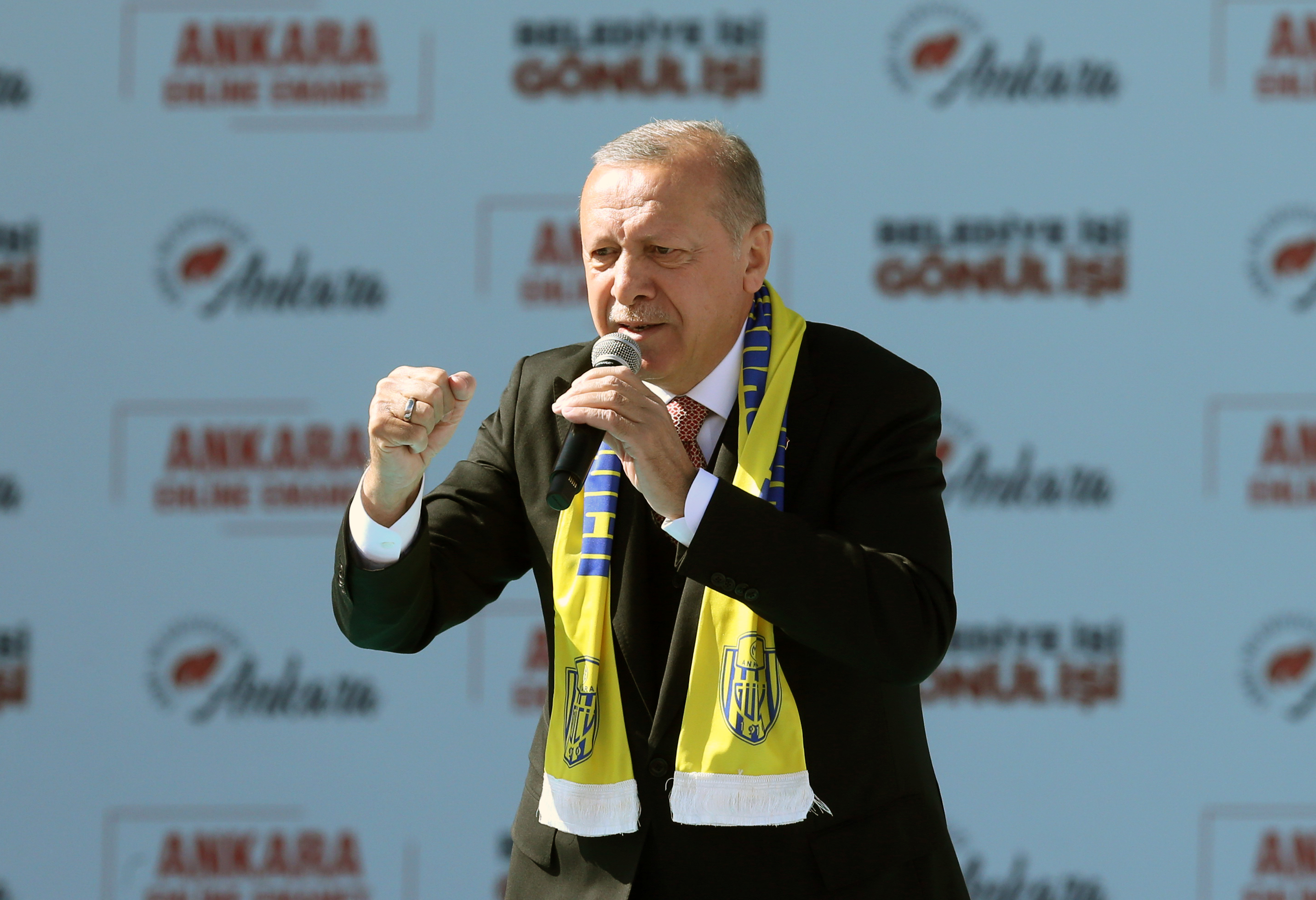 Erdogan Loses Capital Ankara in Turkey Election Blow