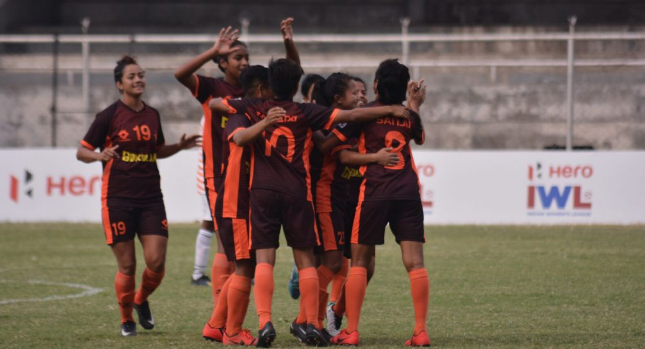 Gokulam Kerala women's football team at the 2019 Indian Women's League