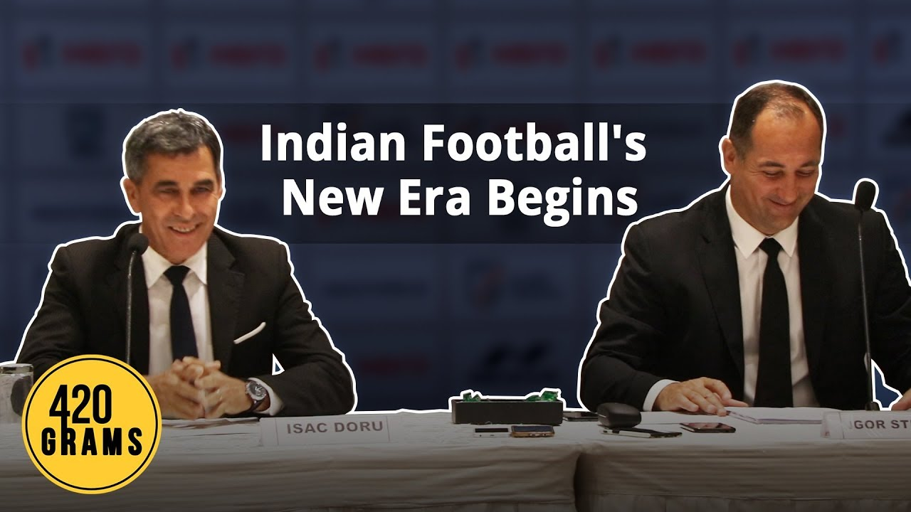 Doru Isac and Igor Stimac, the newly appointed Indian football team technical director and coach