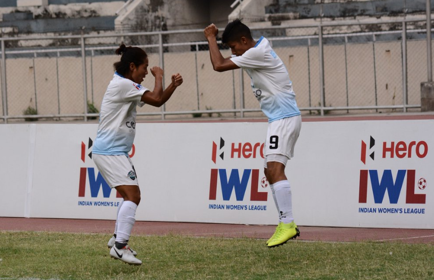 Nepal football team player Sabitra Bhandari who played for Sethu FC in the Indian Women's League (IWL 2019)