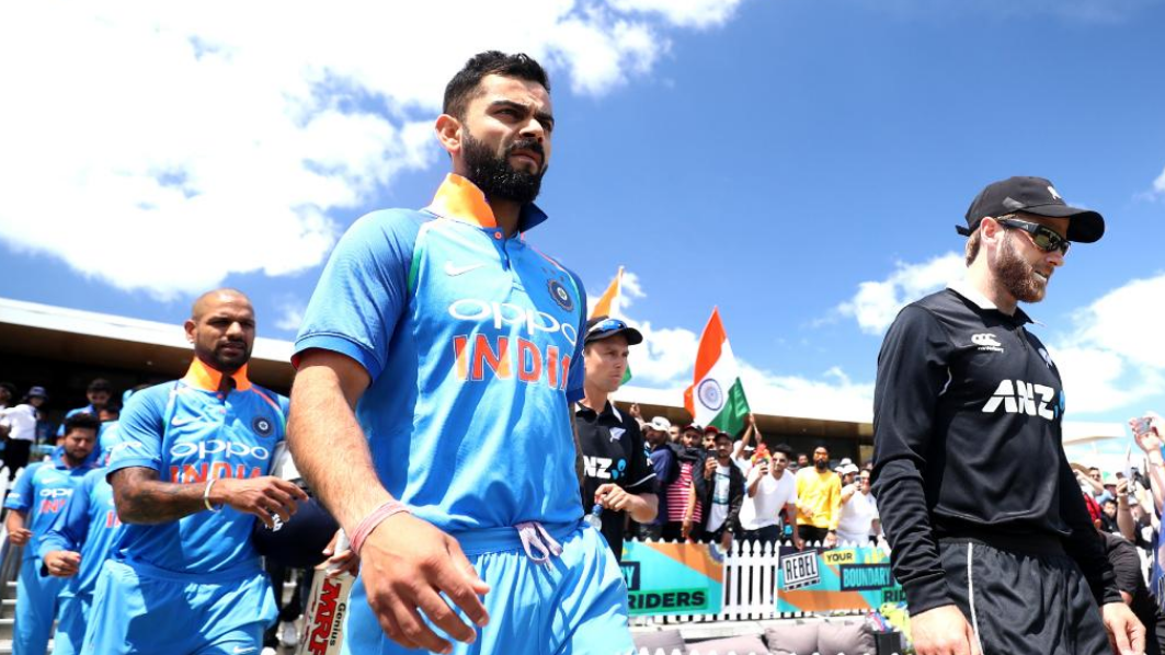 Indian cricket team skipper Virat Kohli at 2019 ICC World Cup
