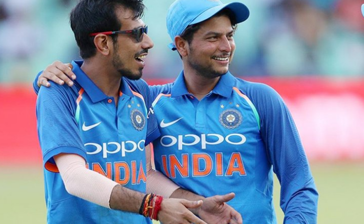 Indian cricket team spinners Yuzvendra Chahal and Kuldeep Yadav