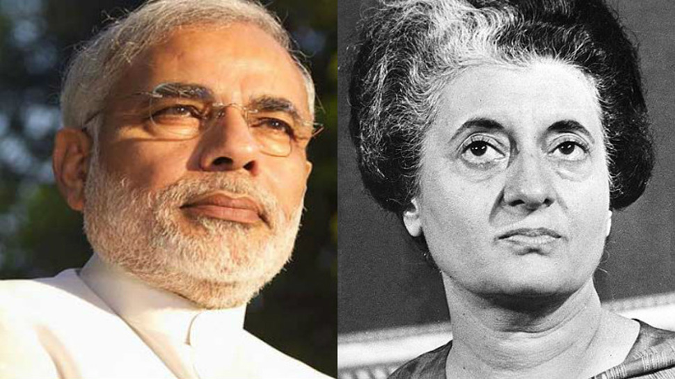 What is similar between Narendra Modi and Indira Gandhi?