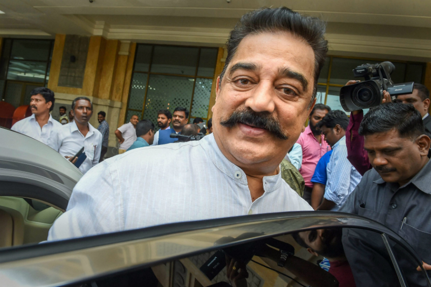 Free Indias first extremist was a Hindu referring to Godse: Kamal Hassan