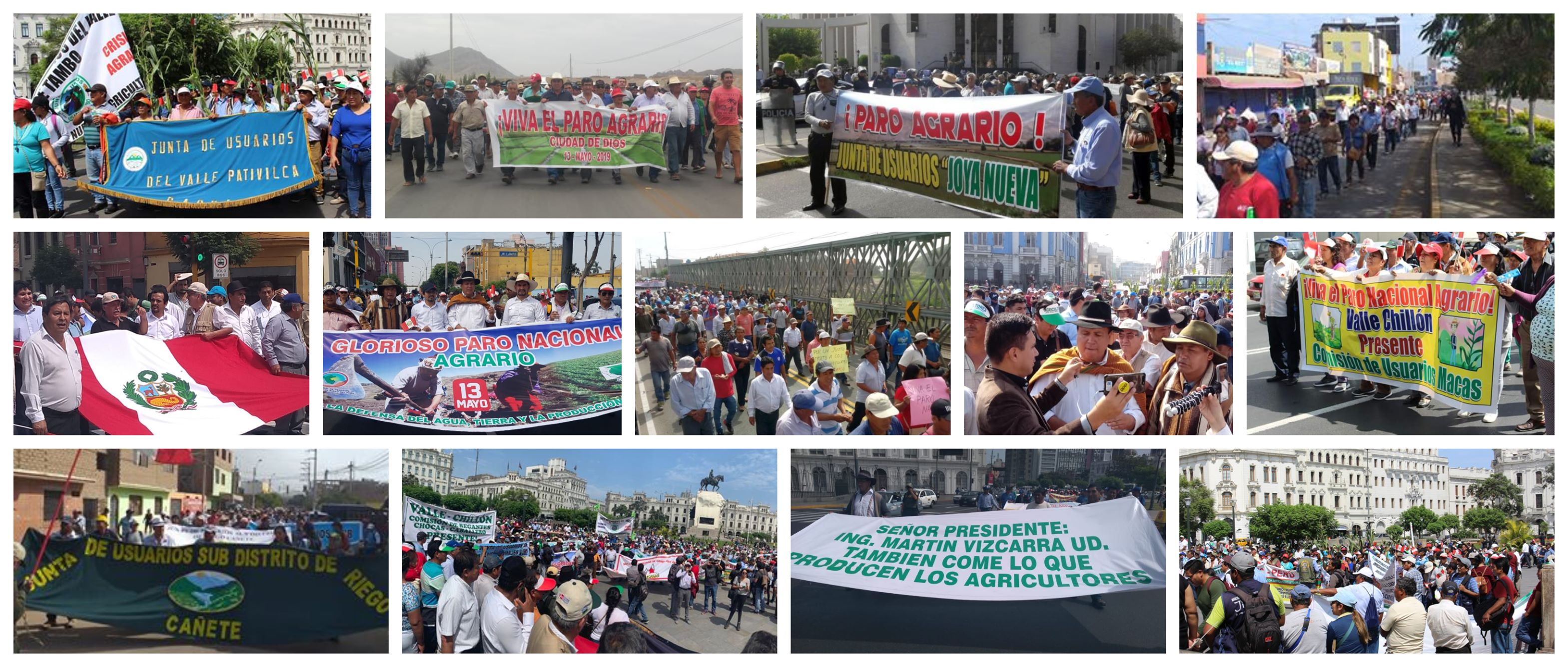 Peruvians Carry Out Massive National Agrarian Strike